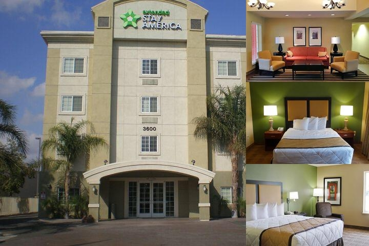 Extended Stay Deluxe Bakersfield Chester Lane photo collage