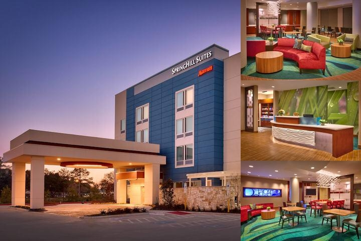 Springhill Suites Houston North photo collage