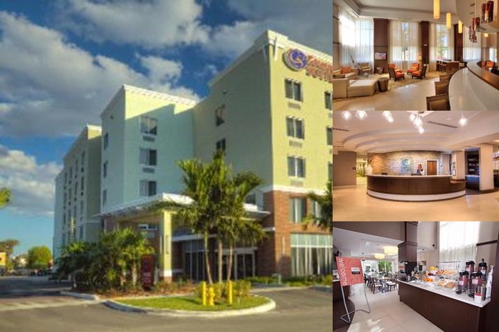 Comfort Suites Miami Airport North photo collage
