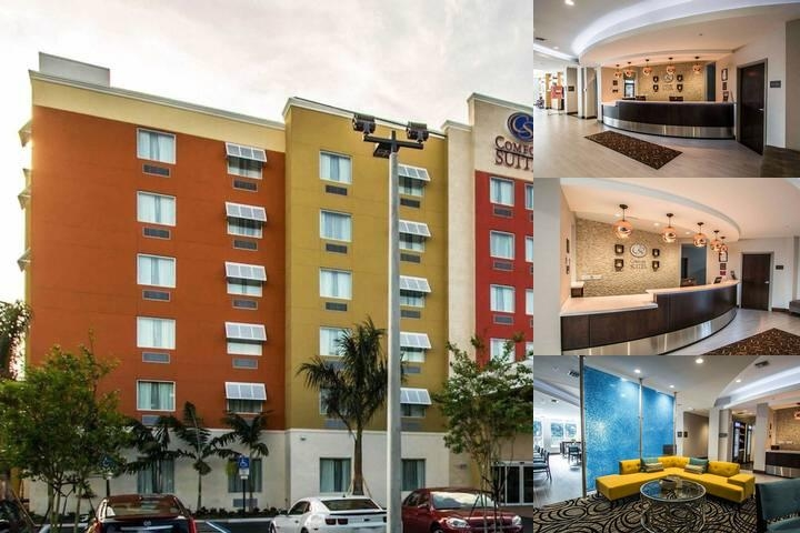 Comfort Suites Fort Lauderdale Airport South & Cruise Port photo collage