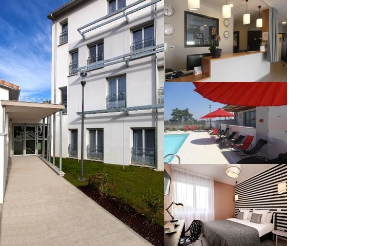 Quality Suites Toulouse Blagnac photo collage