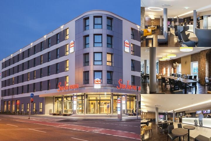 Star Inn Hotel & Suites Premium Heidelberg by Quality photo collage