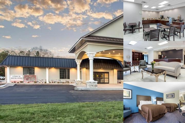 Clarion Inn & Suites Oxford photo collage