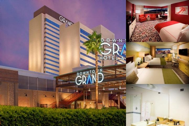 Downtown Grand Hotel & Casino Las Vegas photo collage