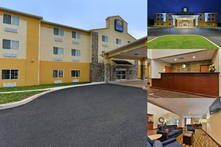 Comfort Inn Manheim Lebanon photo collage