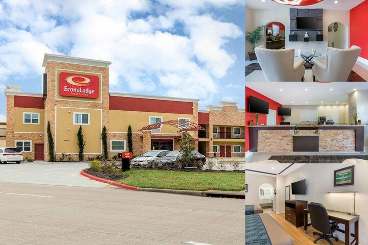 Econo Lodge Inn Houston Willowbrook Newly Open photo collage