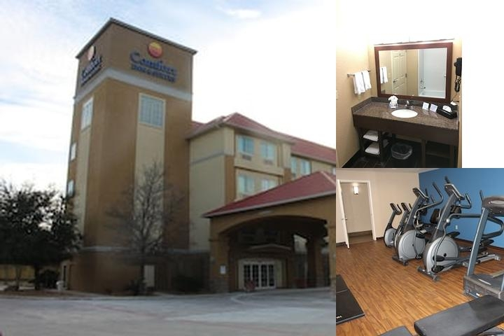Comfort Inn & Suites Near Six Flags & Medical Center photo collage