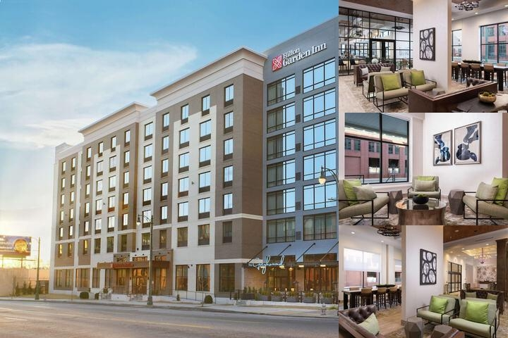 Hilton Garden Inn Memphis Downtown photo collage