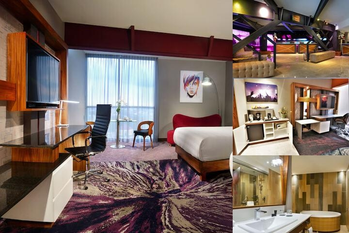 Hard Rock Hotel Guadalajara by Convention Meetings photo collage