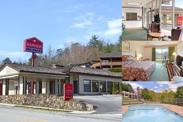 Knights Inn Dillard photo collage