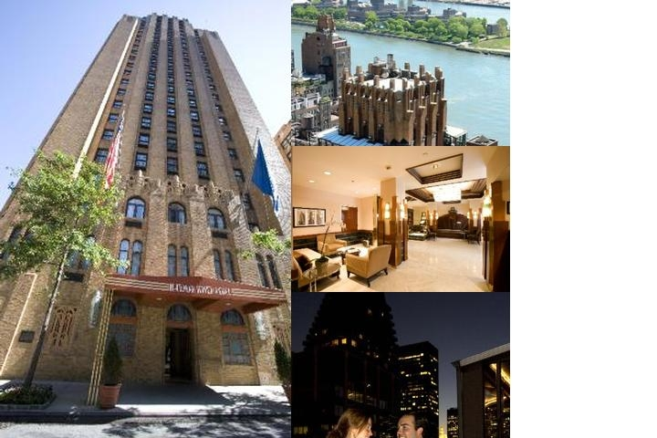 The Beekman Tower Hotel photo collage