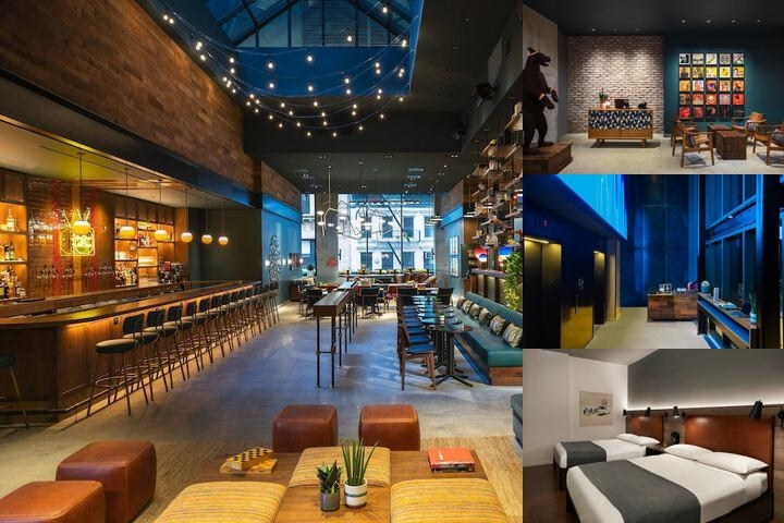 Moxy Nyc Downtown photo collage