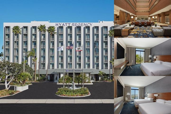 Hyatt Regency John Wayne Airport Newport Beach photo collage