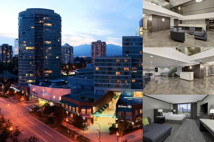 Hilton Vancouver Metrotown photo collage
