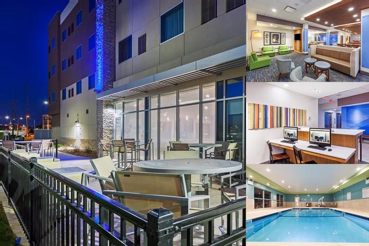 Holiday Inn Express & Suites Lenexa Overland Park Area photo collage