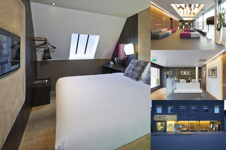 Bloc Hotel Birmingham photo collage