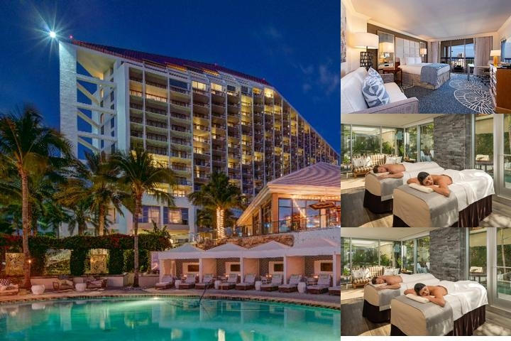 Waldorf Astoria Naples photo collage