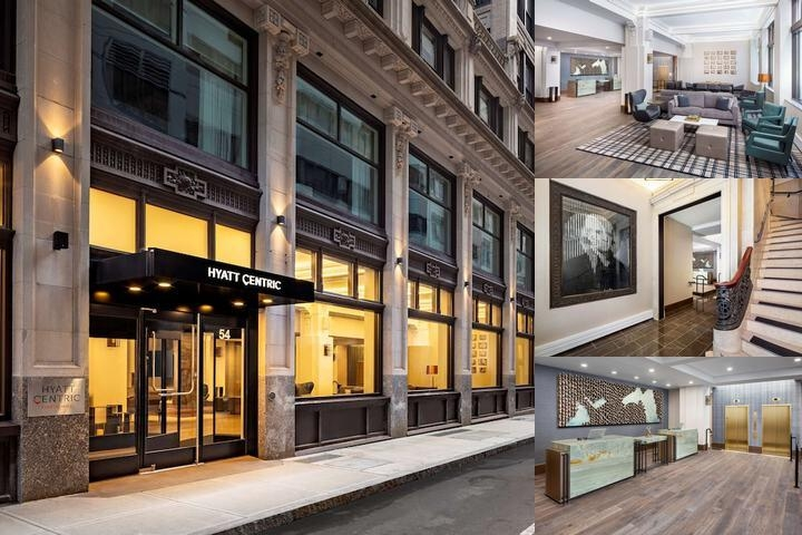 Hyatt Centric Faneuil Hall photo collage