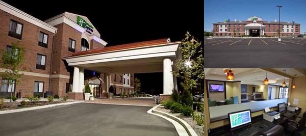 Holiday Inn Express & Suites Dimondale photo collage