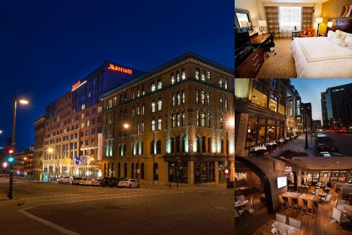 Milwaukee Marriott Downtown photo collage