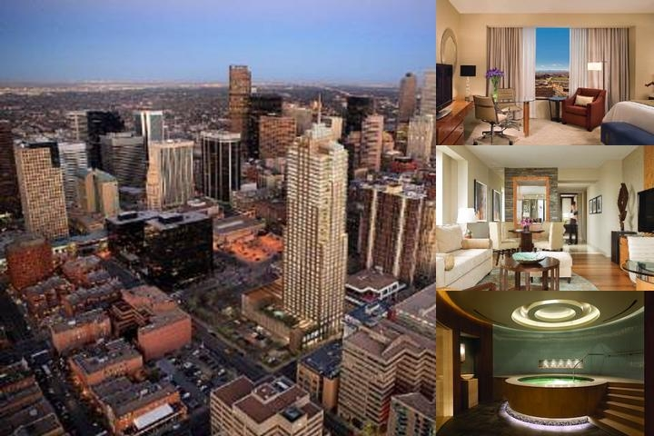 Four Seasons Hotel Denver photo collage