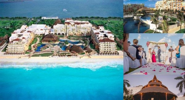 Royal Service at Paradisus Cancun All Inclusive Adults Only photo collage