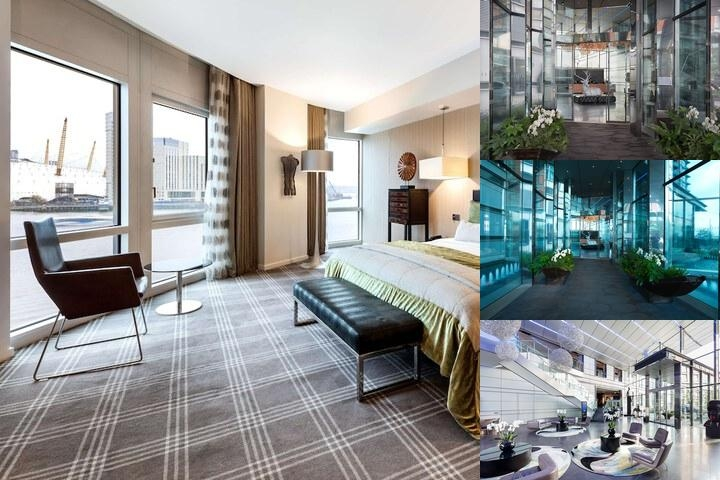 Radisson Blu Edwardian New Providence Wharf Hotel, London photo collage