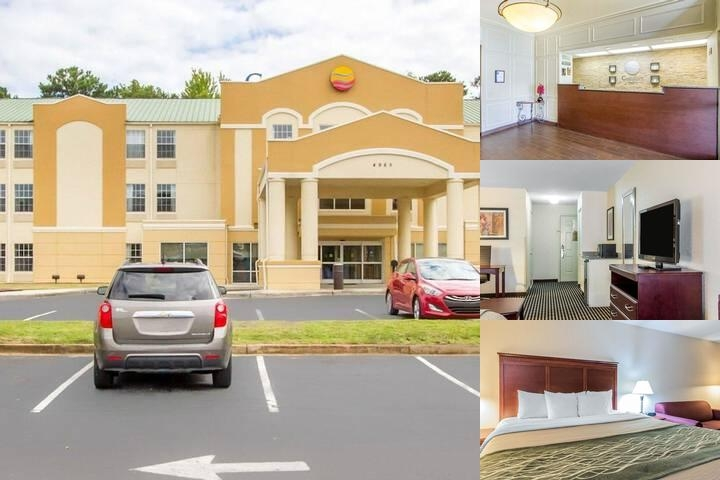 Comfort Inn Birmingham Airport photo collage