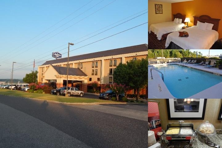 Hamilton Inn photo collage