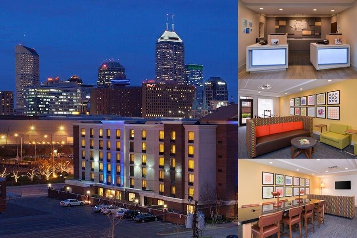 Holiday Inn Express Indianapolis Downtown Conventi photo collage