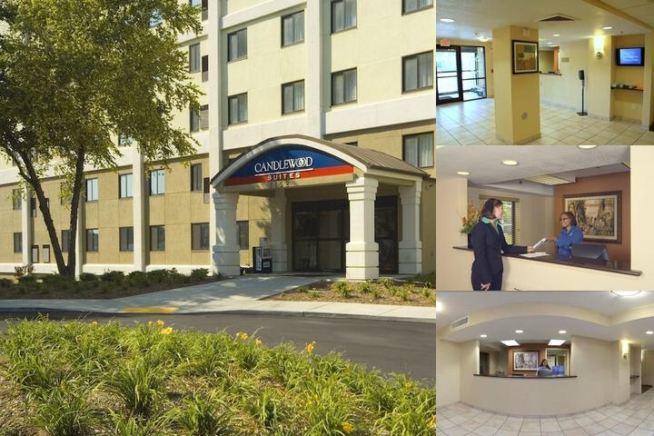Candlewood Suites Indianapolis Downtown Medical District, an IHG photo collage