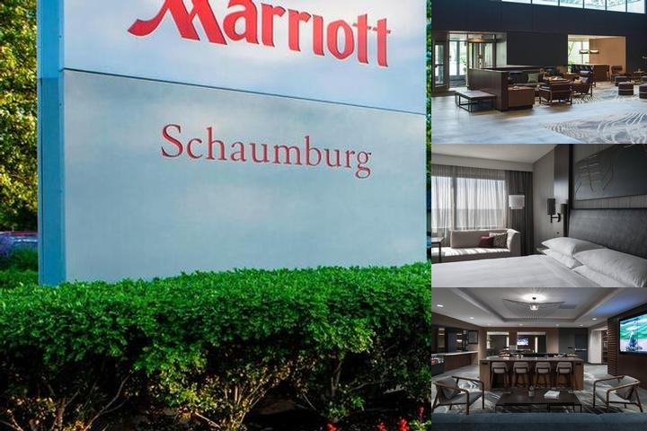 Marriott Chicago Schaumburg photo collage