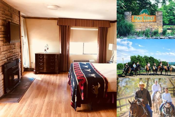 Pine Ridge Dude Ranch photo collage