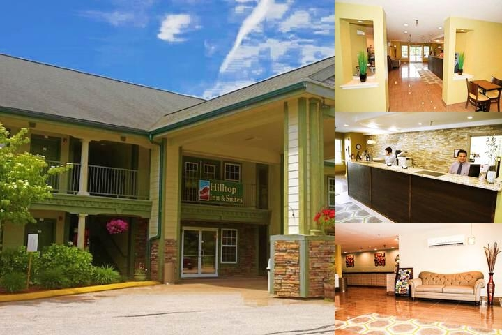 Hilltop Inn Suites Photo Collage