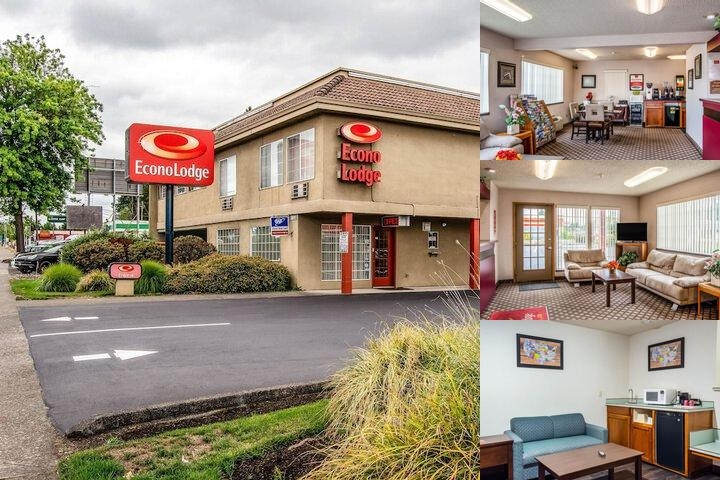 Econo Lodge Southeast Milwaukie / Portland photo collage