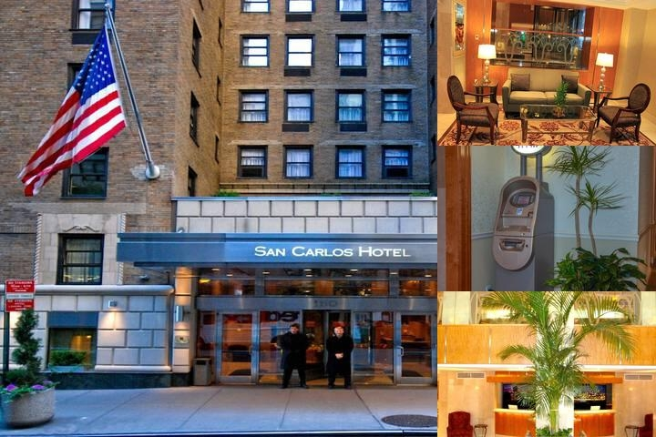 San Carlos Hotel photo collage