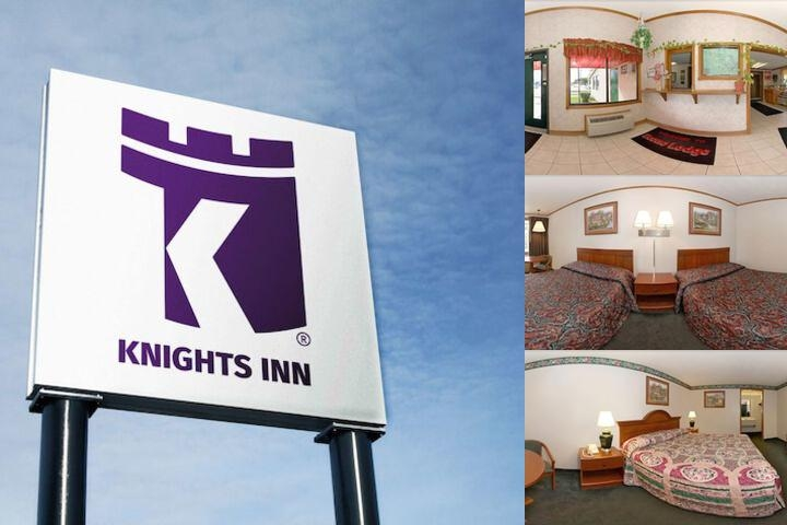 Knights Inn photo collage