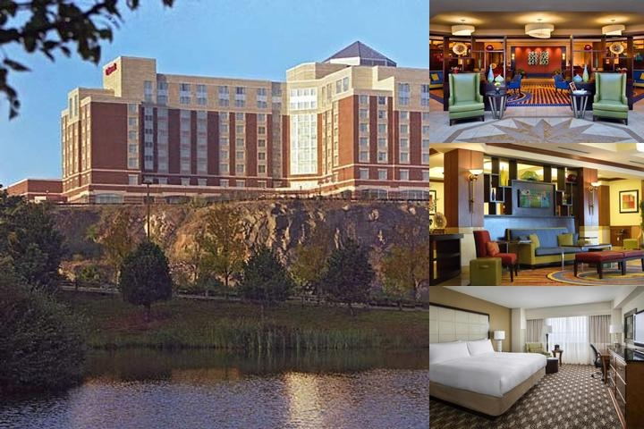 Boston Marriott Quincy photo collage