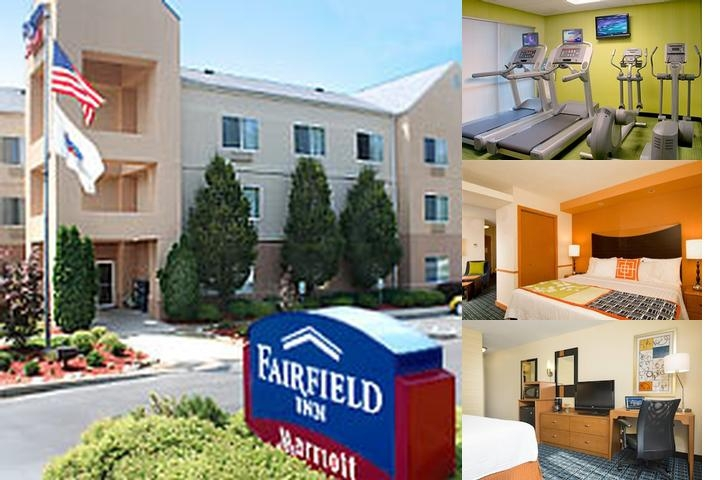 Fairfield Inn & Suites by Marriott Bloomington photo collage
