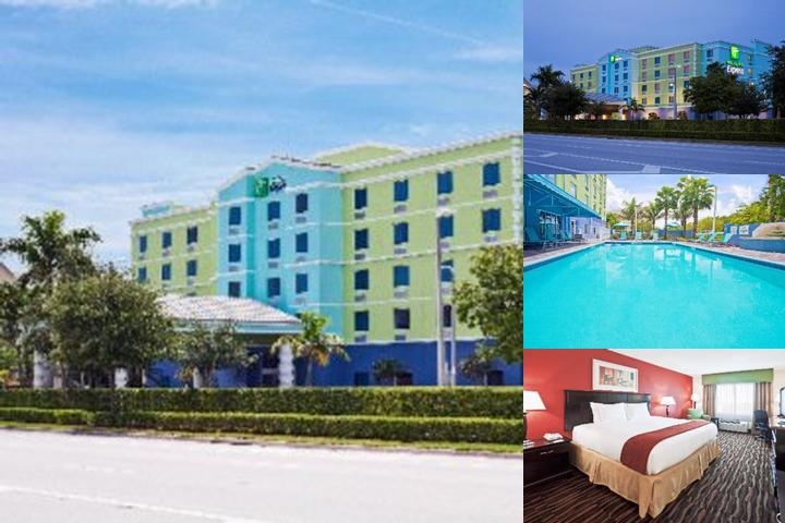 Holiday Inn Express Hotel & Suites Ft Lauderdale Airport/Cru photo collage