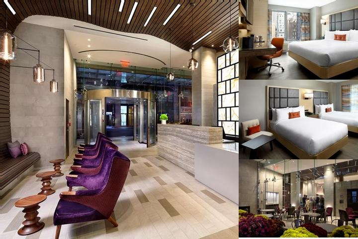Cambria Hotel Times Square photo collage