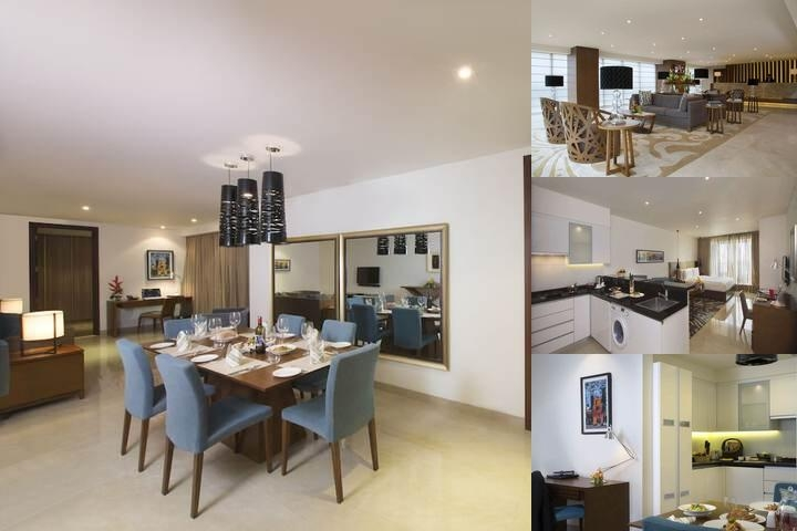 Oakwood Residence Prestige Whitefield Bangalore photo collage