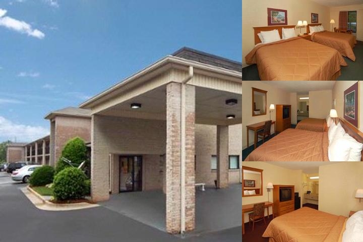 Quality Inn Oakwood photo collage