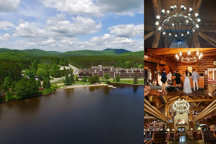 Le Grand Lodge Mont Tremblant photo collage