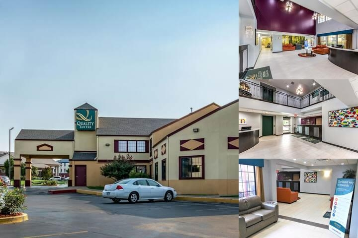 Tulsa Quality Suites photo collage