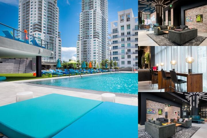 The Guild Miami Downtown photo collage
