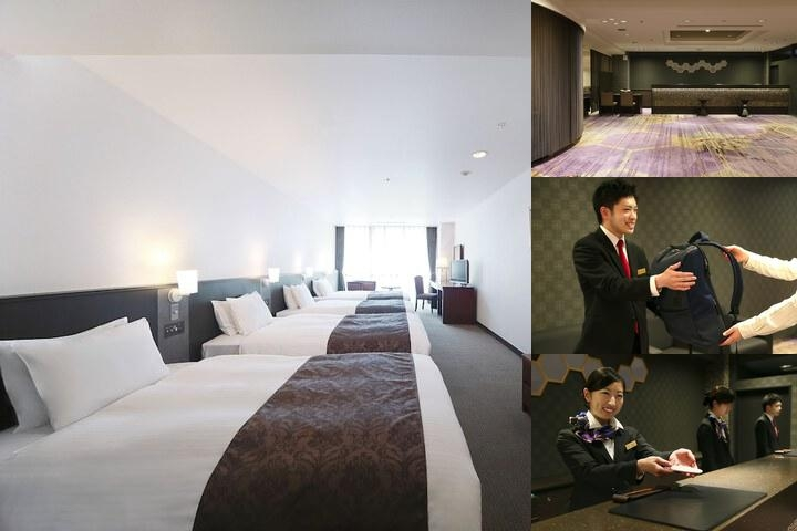 Kyoto Tower Hotel photo collage