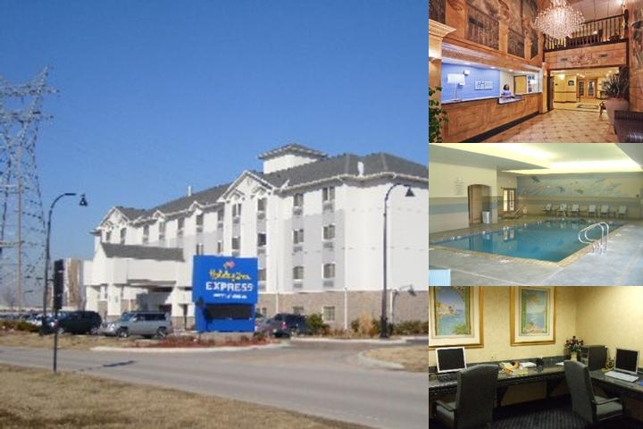 Holiday Inn Express Hotel & Suites Jenks photo collage