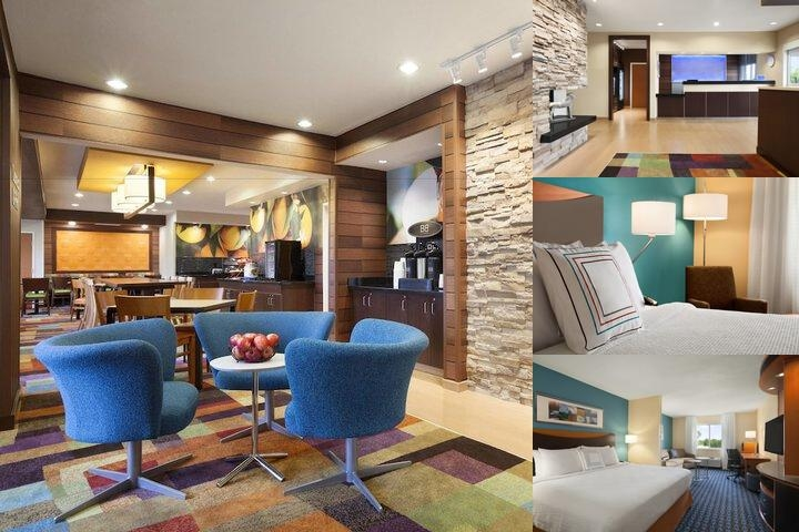 West Lansing Fairfield Inn photo collage