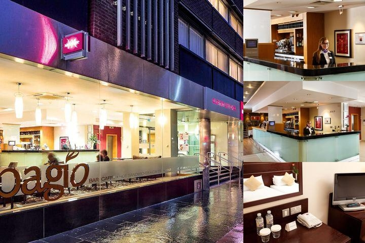 Mercure Glasgow City Hotel photo collage